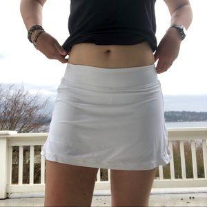 Nike dri-fit high rise tennis skirt